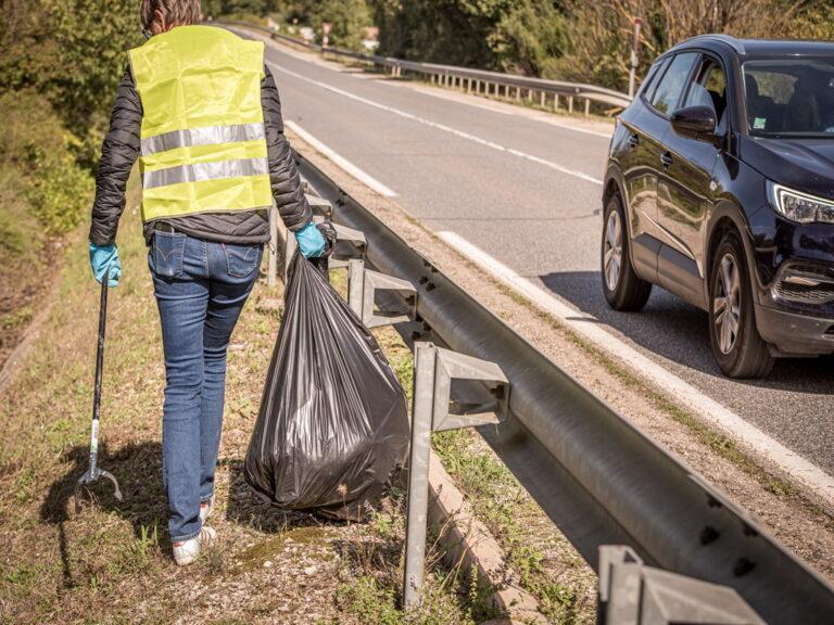 Collibris de l'issole nettoyage des abords de routes