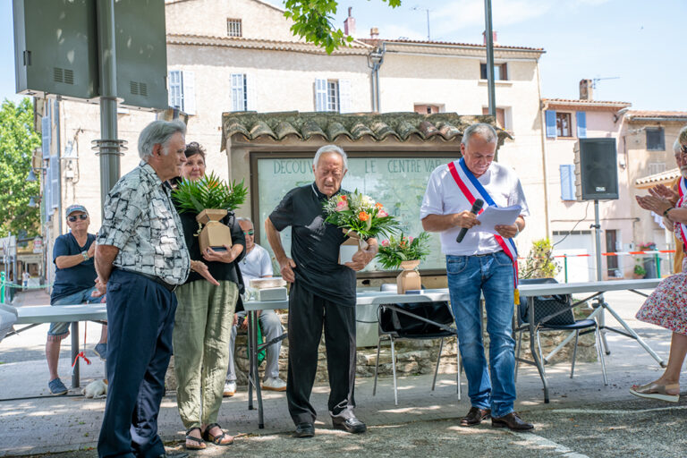 Besse sur issole - MISE A L'HONNEUR – REMISE DE MEDAILLES