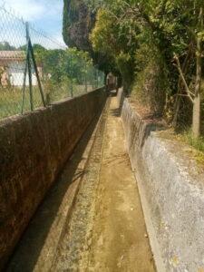 Mairie de Besse sur issole - Nettoyage des canaux (2)