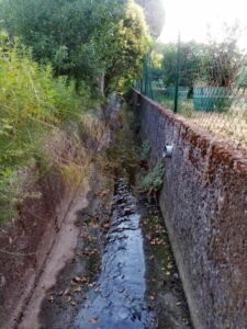 Mairie de Besse sur issole - Nettoyage des canaux (3)