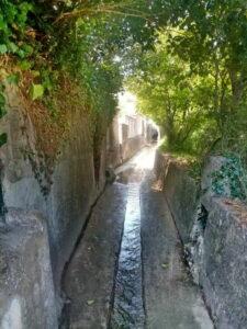 Mairie de Besse sur issole - Nettoyage des canaux (6)