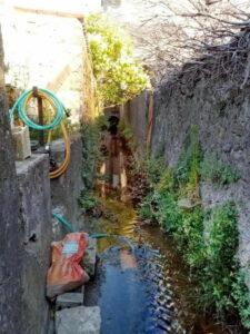 Mairie de Besse sur issole - Nettoyage des canaux (7)