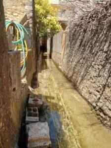 Mairie de Besse sur issole - Nettoyage des canaux (8)