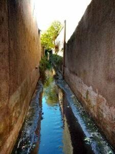 Mairie de Besse sur issole - Nettoyage des canaux (9)
