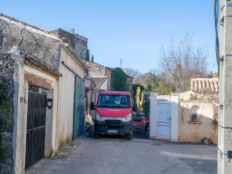 Mairie de besse sur issole - refection impasse du laqué