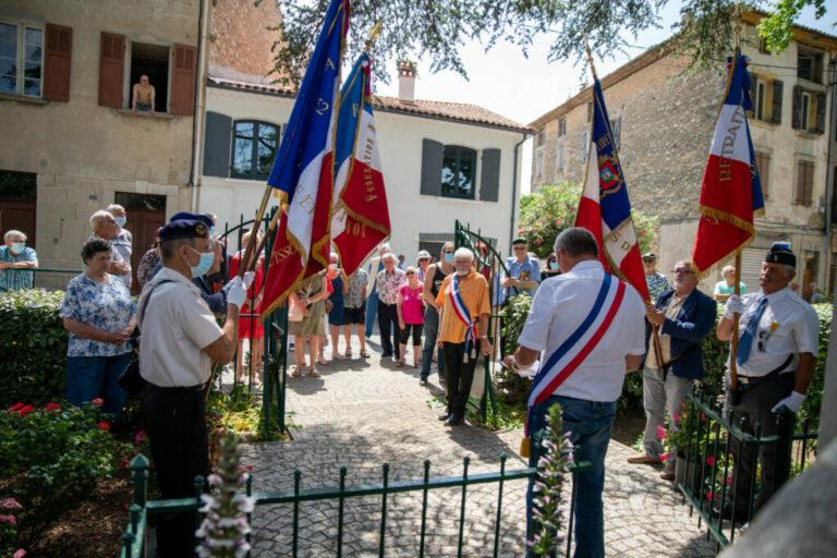 Besse sur issole - commemoration de l'appel du 18 juin