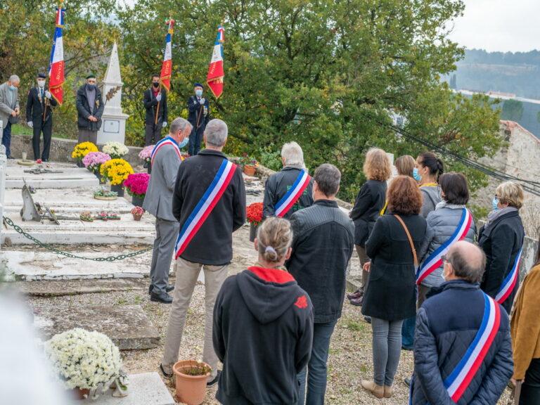 Mairie de Besse sur issole 2020 - Commémoration du 11 novembre