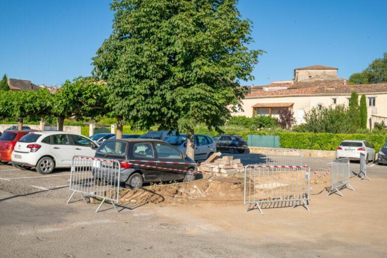 refection parking Besse sur issole