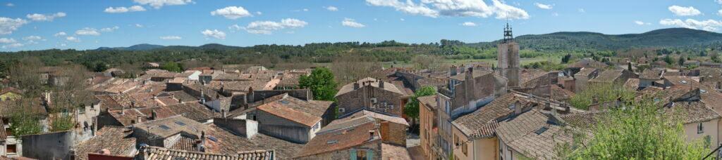 Besse sur Issole, village du Var dans le Sud de la France